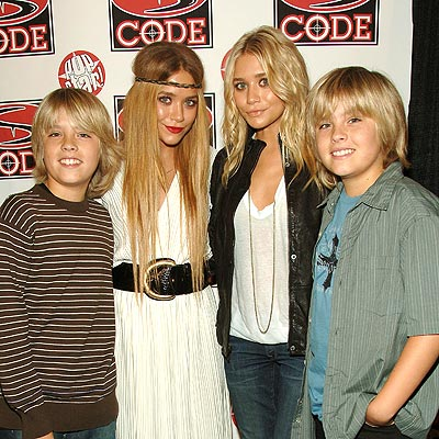 SEEING DOUBLE photo | Ashley Olsen, Cole Sprouse, Dylan Sprouse, Mary-Kate Olsen