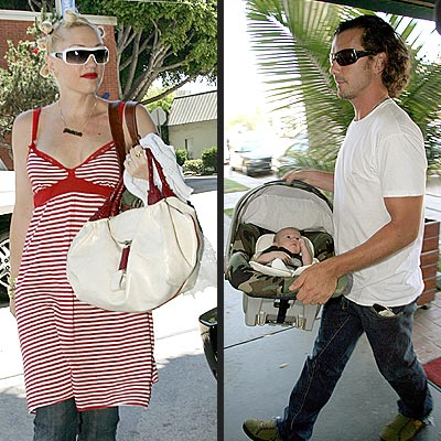 BABY'S DAY OUT photo | Gavin Rossdale, Gwen Stefani