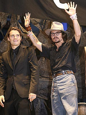 BOX OFFICE BOOTY photo | Johnny Depp, Orlando Bloom