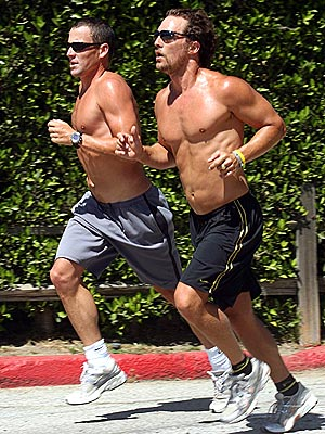 TRAINING DAY photo | Lance Armstrong, Matthew McConaughey