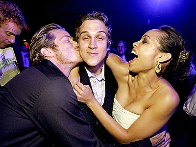 THREE&#39;S COMPANY photo | Jason Lewis, Jason Mewes, Rosario Dawson