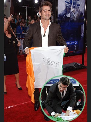 PRIDE OF THE IRISH photo | Colin Farrell