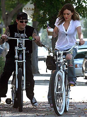EASY RIDERS photo | Hilary Duff, Joel Madden