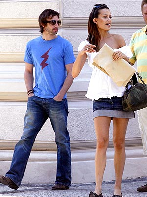 EUROPEAN VACATION photo | James Blunt, Petra Nemcova