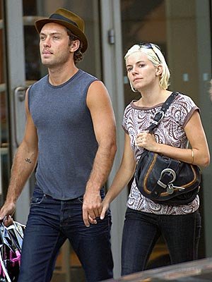 SOLID AS A ROCK photo | Jude Law, Sienna Miller