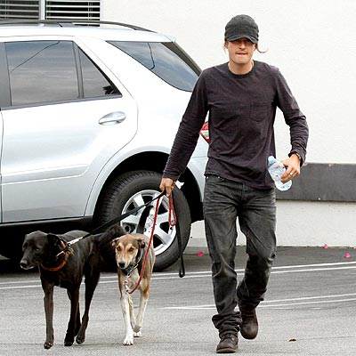 PUPPY PLAY DATE photo | Orlando Bloom