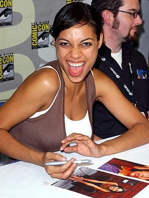 COMIC RELIEF photo | Rosario Dawson