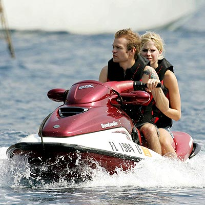 THE JET SET photo | Avril Lavigne, Derick Whibley