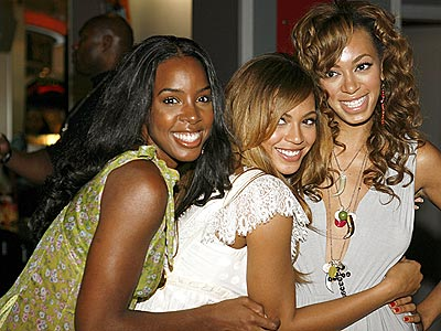 LOVE TRAIN photo | Beyonce Knowles, Kelly Rowland, Solange Knowles