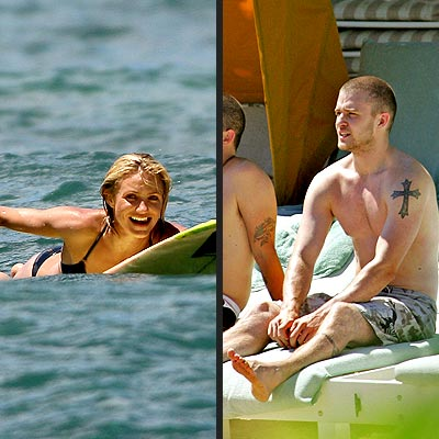 HANG TIME photo | Cameron Diaz, Justin Timberlake