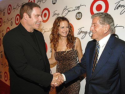 MAN OF THE HOUR photo | John Travolta, Kelly Preston, Tony Bennett