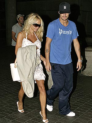 THE NEWLYWEDS photo | Kid Rock, Pamela Anderson