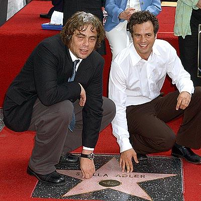 ALL-STAR TRIBUTE photo | Benicio Del Toro, Mark Ruffalo