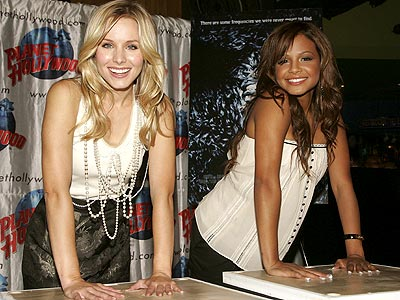 FINGERS ON THE 'PULSE' photo | Christina Milian, Kristen Bell