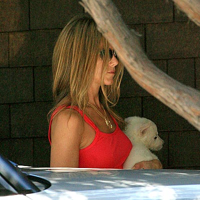 LUCKY DOG photo | Jennifer Aniston