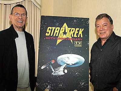 THE FINAL FRONTIER  photo | Leonard Nimoy, William Shatner