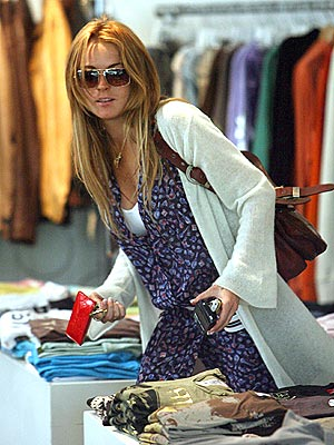 ONE-STOP SHOPPING photo | Lindsay Lohan