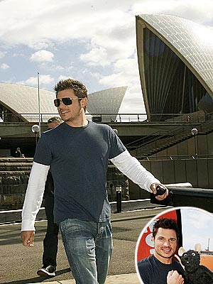 DOWN-UNDER FUN  photo | Nick Lachey