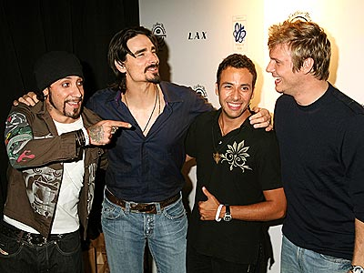 SUPPORT GROUP photo | Backstreet Boys, AJ McLean, Howie Dorough, Kevin Richardson, Nick Carter