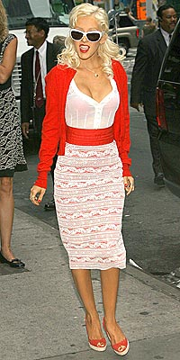 RETRO FIT photo | Christina Aguilera