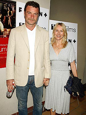 ON FIRM FOOTING photo | Liev Schreiber, Naomi Watts