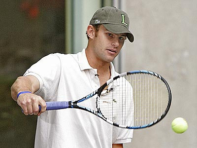 MAKING A RACQUET photo | Andy Roddick