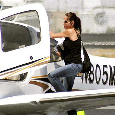 FLIGHT PLAN photo | Angelina Jolie