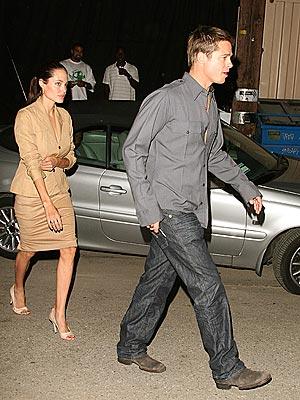 A FINE LINE photo | Angelina Jolie, Brad Pitt