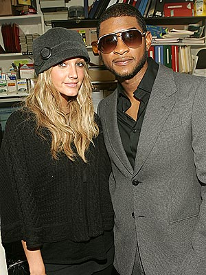 SUPPORTING ACT photo | Ashlee Simpson, Usher
