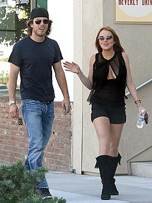 WELL ROUNDED photo | Harry Morton, Lindsay Lohan