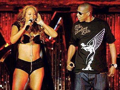 DYNAMIC DUO  photo | Jay-Z, Mariah Carey