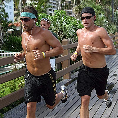 RUNNING MEN photo | Lance Armstrong, Matthew McConaughey