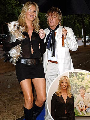 GENTLEMAN PREFERS BLONDES photo | Penny Lancaster, Rod Stewart