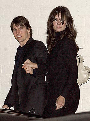 DINNER A DEUX photo | Katie Holmes, Tom Cruise