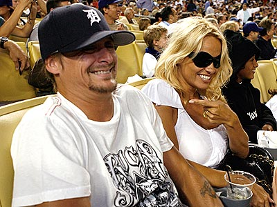 ROCK-IN' GOOD TIME  photo | Kid Rock, Pamela Anderson