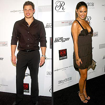 SOLO ACTS photo | Nick Lachey, Vanessa Minnillo