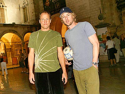 STAR ATTRACTIONS photo | Owen Wilson, Woody Harrelson