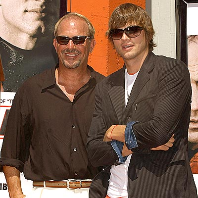 HOLLYWOOD HANDS photo | Ashton Kutcher, Kevin Costner