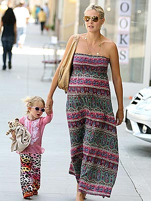 PATTERNED AFTER MOM photo | Heidi Klum