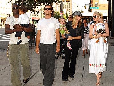 heidi klum and seal and family. Heidi Klum, Seal