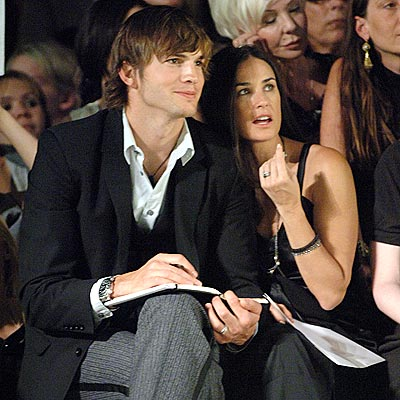 FASHION BEAT  photo | Ashton Kutcher, Demi Moore