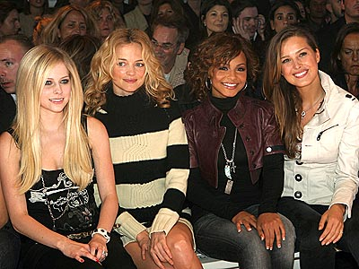 STARS GAZING photo | Avril Lavigne, Christina Milian, Heather Graham, Petra Nemcova