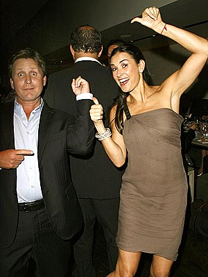 MIXED SIGNALS? photo | Demi Moore, Emilio Estevez