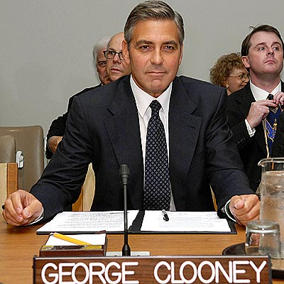 DAPPER DIPLOMAT photo | George Clooney