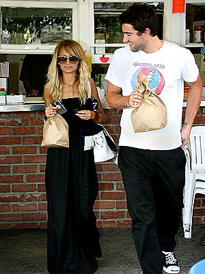 FAST-FOOD FIX photo | Brody Jenner, Nicole Richie