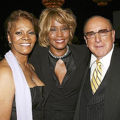 THE COMEBACK KID photo | Clive Davis, Dionne Warwick, Whitney Houston