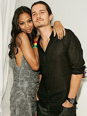 SCAR FACE? photo | Orlando Bloom, Zoe Saldana