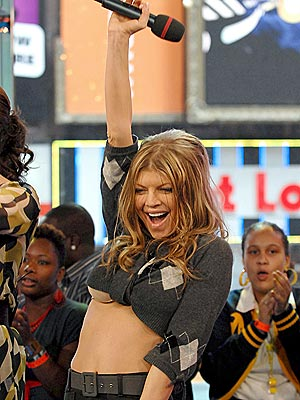 RAISING THE 'BRIDGE' photo | Fergie
