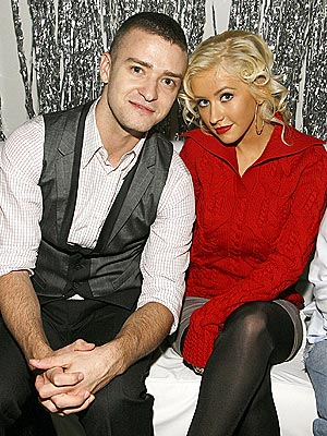 THE HOT SEAT photo | Christina Aguilera, Justin Timberlake