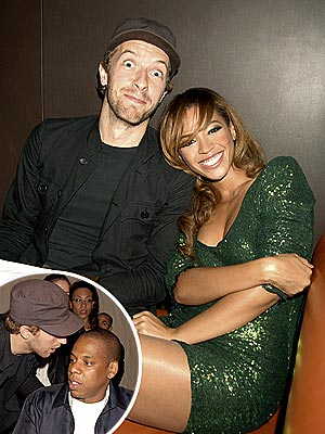 MUSICAL CHAIRS  photo | Beyonce Knowles, Chris Martin